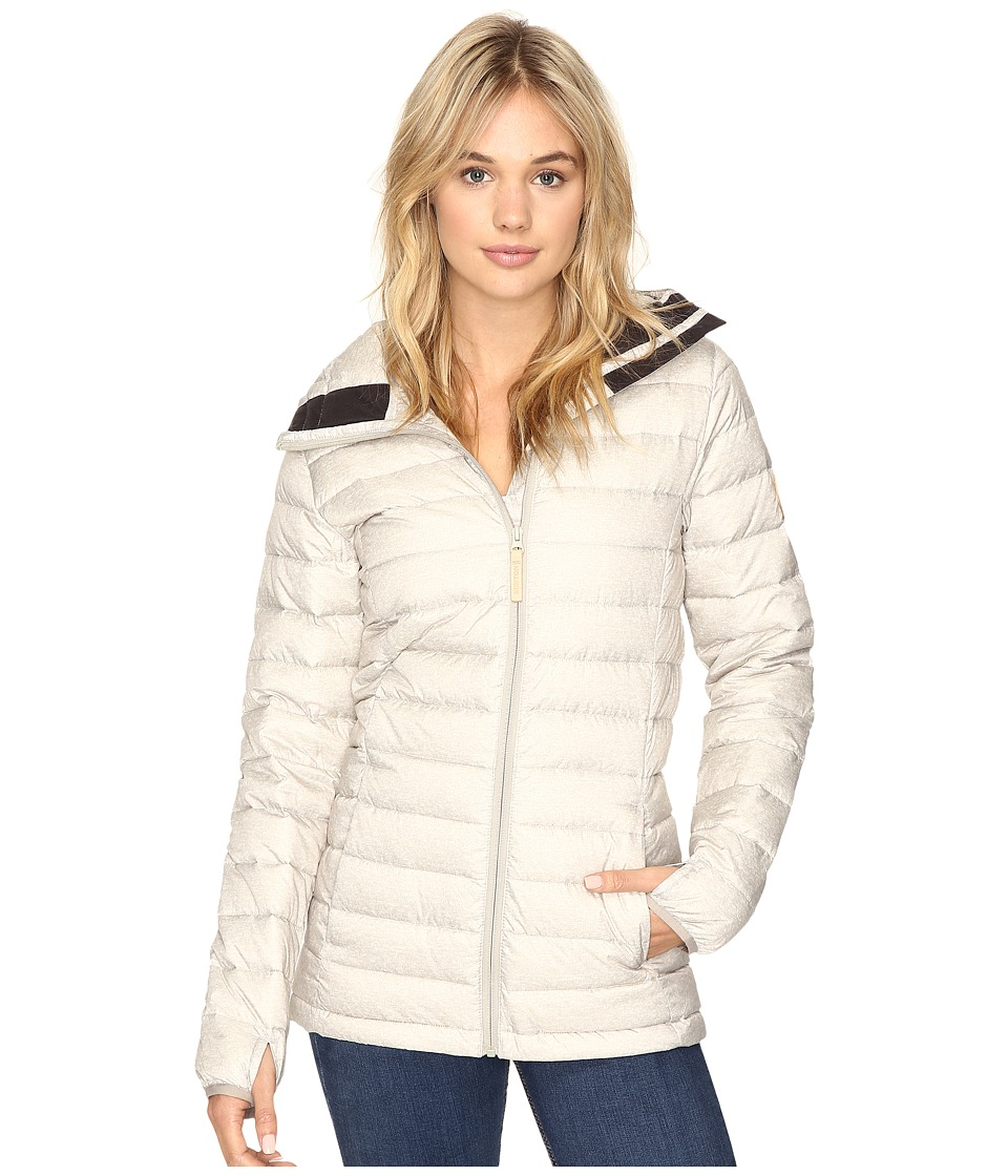 Burton Evergreen Hooded Down Insulator Jacket (Dove Heather) Women