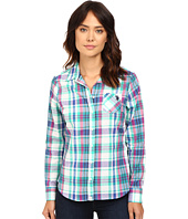U.S. POLO ASSN. - Plaid Poplin Single Pocket Shirt