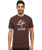 Life is Good - Life is Good® Script Crusher Tee