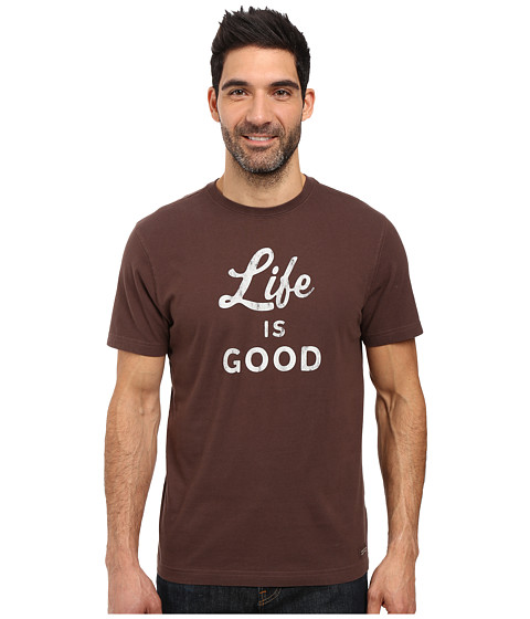 Life is good Life is Good® Script Crusher Tee