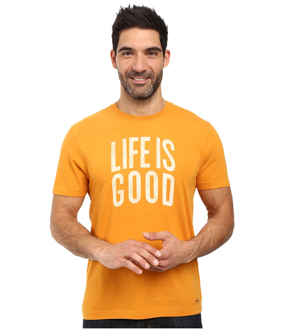 Life is good - Life is Good Arch Crusher Tee (Artisan Gold) Men