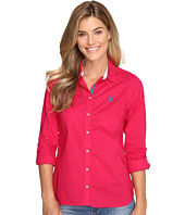 U.S. POLO ASSN. - Printed Poplin Shirt