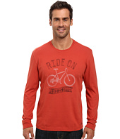 Life is good - Ride On Bike Long Sleeve Crusher Tee