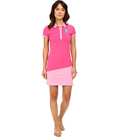 U.S. POLO ASSN. - Diagonal Color Block Jersey Polo Dress