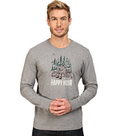 Life is good - Happy Hour Camp Watercolor Long Sleeve Crusher Tee