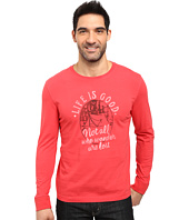 Life is good - Wander Tent Crusher Long Sleeve