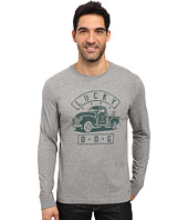 Life is good - Lucky Dog Truck Long Sleeve Crusher Tee