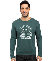 Life is good - Cabin Fever Long Sleeve Crusher Tee