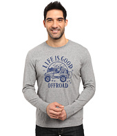 Life is good - Off Road Long Sleeve Crusher Tee
