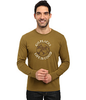Life is good - Go Places Snowshoe Long Sleeve Crusher Tee