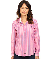 U.S. POLO ASSN. - Casual Striped Blouse
