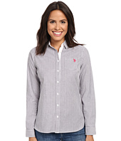 U.S. POLO ASSN. - Long Sleeve Vertical Stripe Shirt