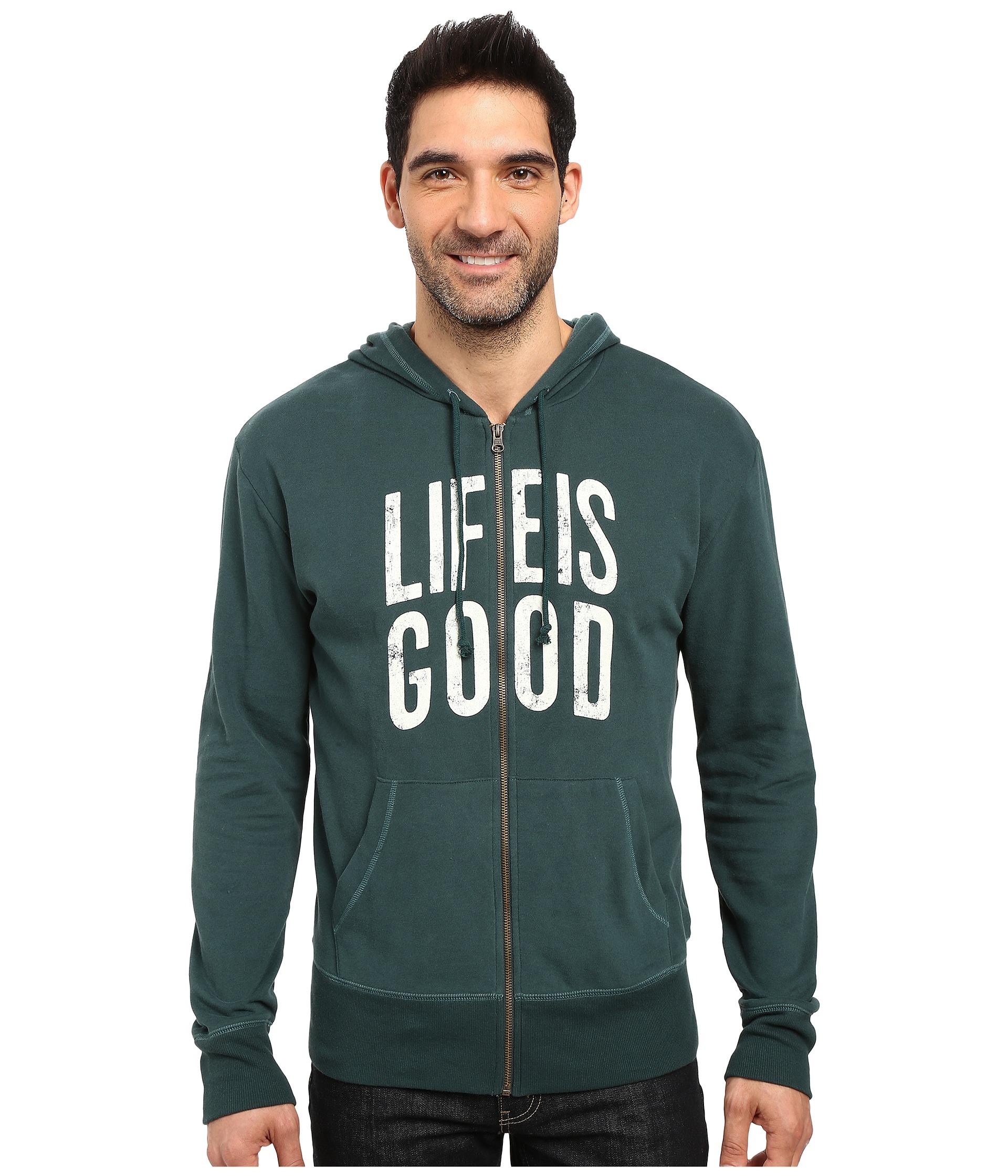 Life is good hoodie
