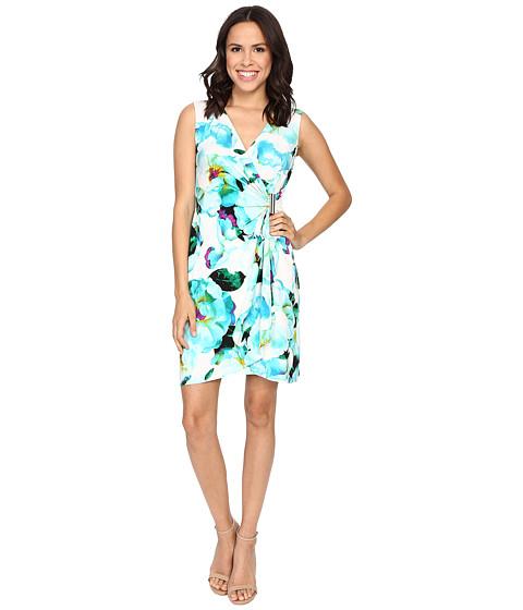 Calvin Klein Sleeveless Wrap Dress