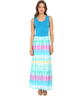 Calvin Klein - Maxi Dress w/ Chiffon Bottom