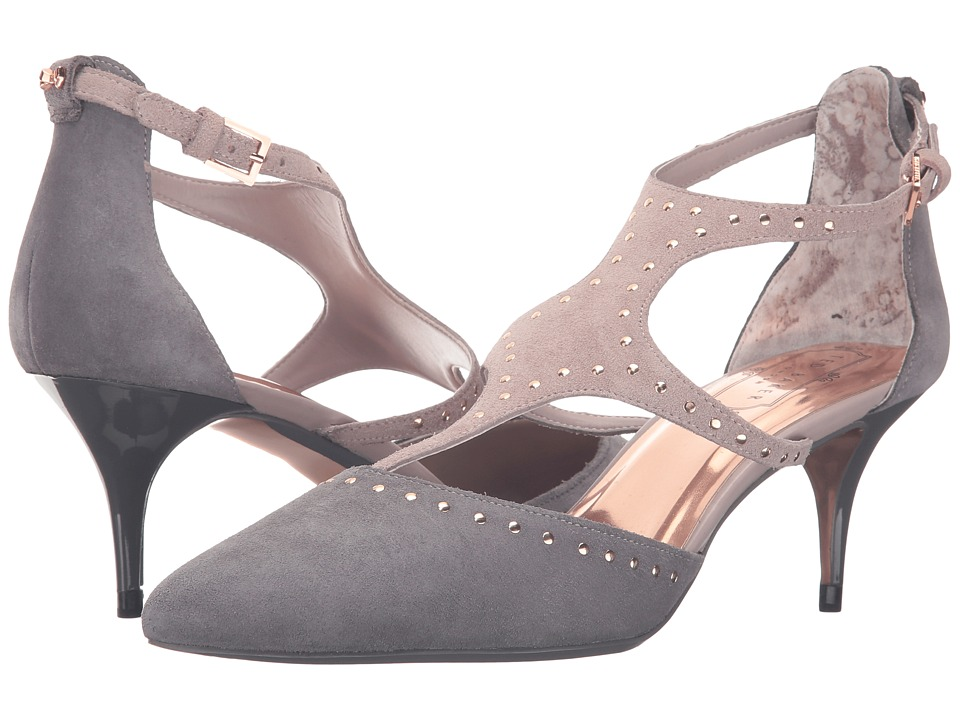Ted Baker Dvaita (Dark Grey/Light Grey Suede) Women