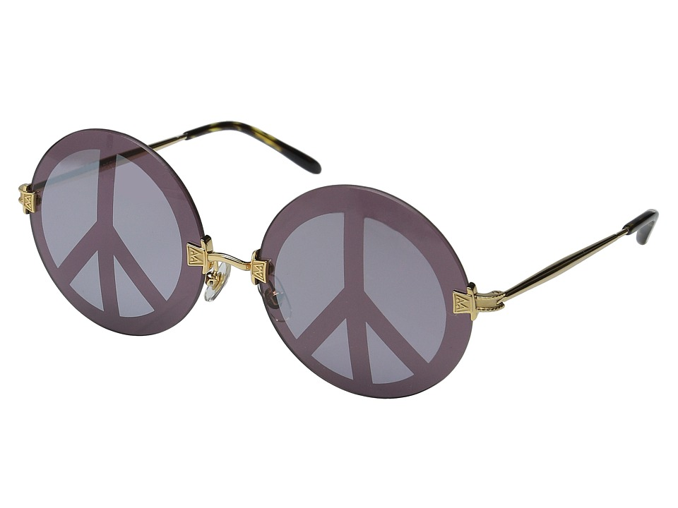 Wildfox Pearl Deluxe Gold/Peace Mirror Fashion Sunglasses