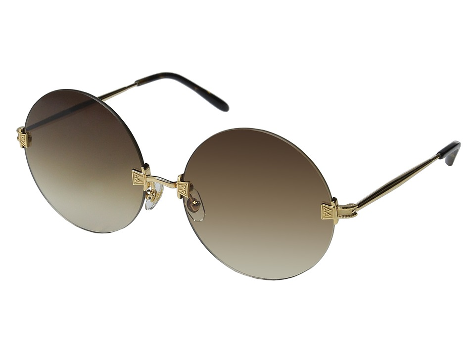 Wildfox Pearl Gold/Tortoise/Brown Gradient Fashion Sunglasses