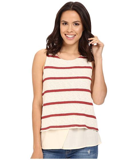 Splendid Tucson Striped Loose Knit Tank Top