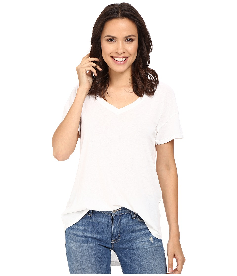 Splendid Vintage Whisper V-Neck Tee (Paper) Women