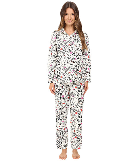 Kate Spade New York Packaged Flannel Pajama Set