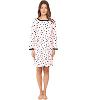 Kate Spade New York - Packaged Brushed Jersey Sleepshirt w/ Eyemask