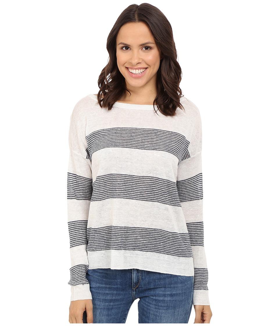 Splendid - Frontier Stripe Sweater (Natural/Navy) Women