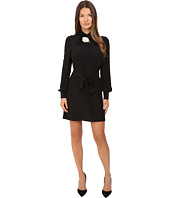 Kate Spade New York - Rosette Bow Shirtdress