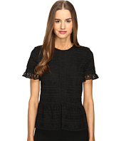 Kate Spade New York - Mixed Lace Top