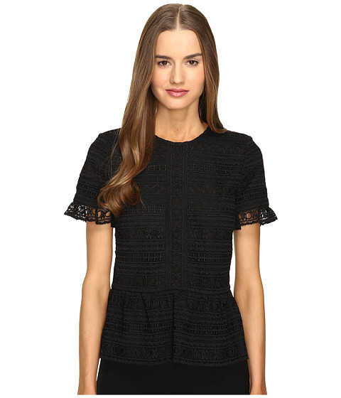 Kate Spade New York Mixed Lace Top