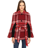 Kate Spade New York - Chunky Plaid Cape