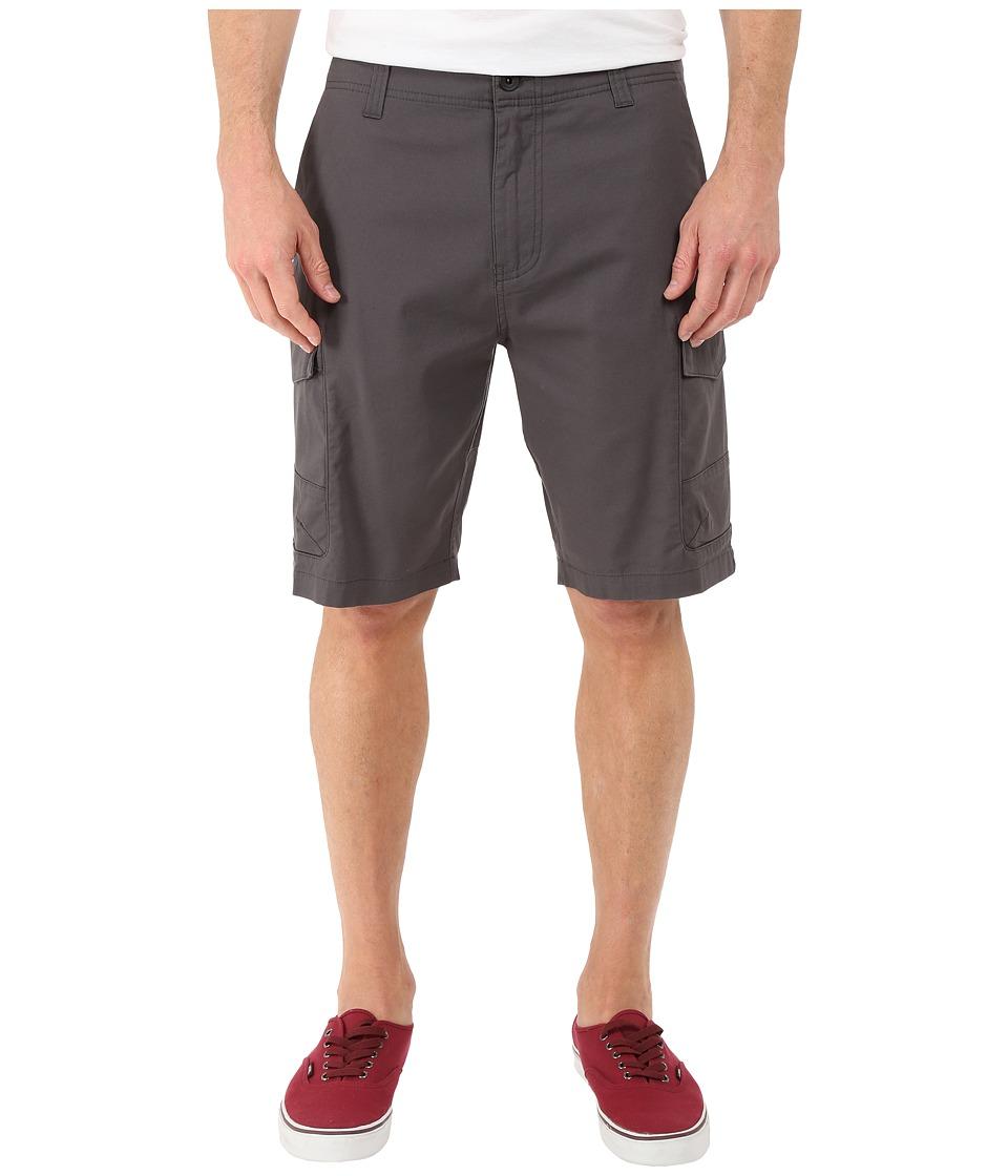 ONeill Black Hawk Cargo Shorts Dark Charcoal Mens Shorts