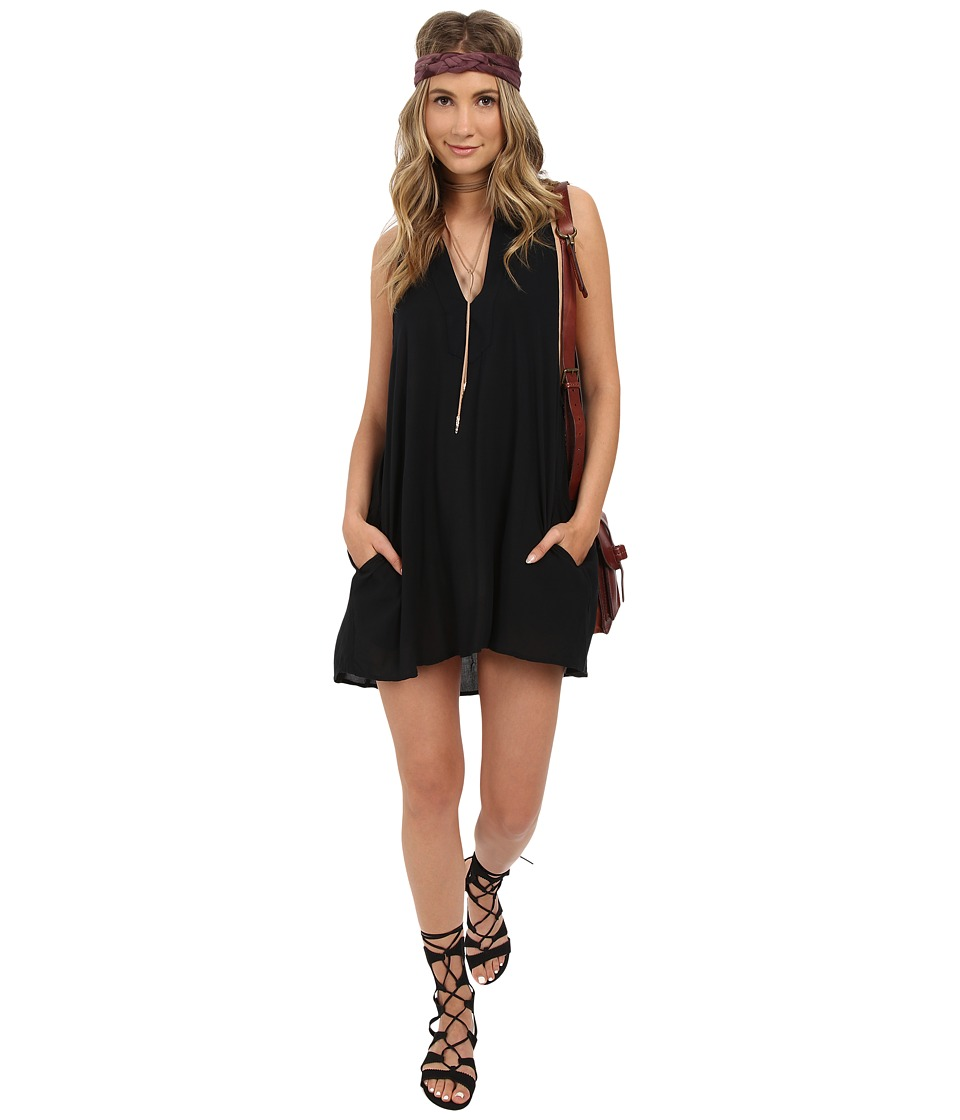 Obey Capricorn Dress Black Womens Dress