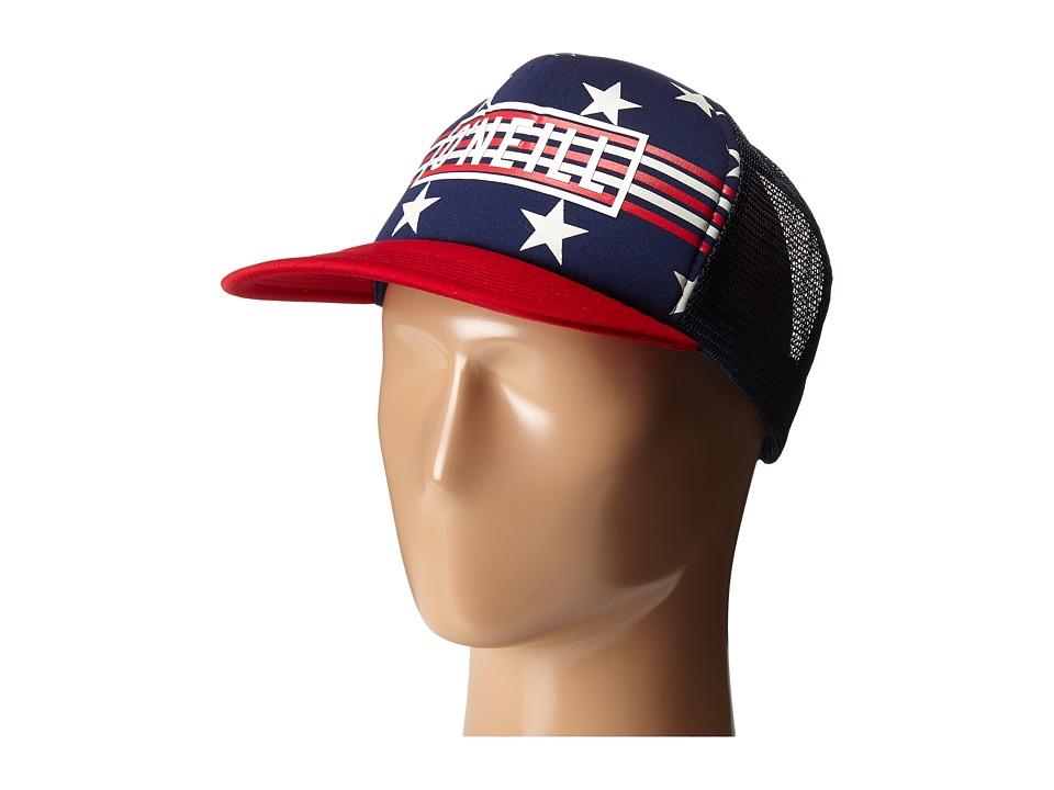 ONeill National Trucker Adjustable Hat Dark Indigo Caps
