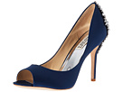 Badgley Mischka - Nilla (Navy Satin)