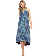 Adelyn Rae - Printed Keyhole Maxi Dress