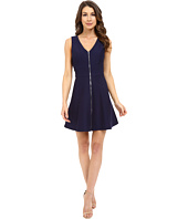 Adelyn Rae - Fit & Flare Dress w/ Front Zipper