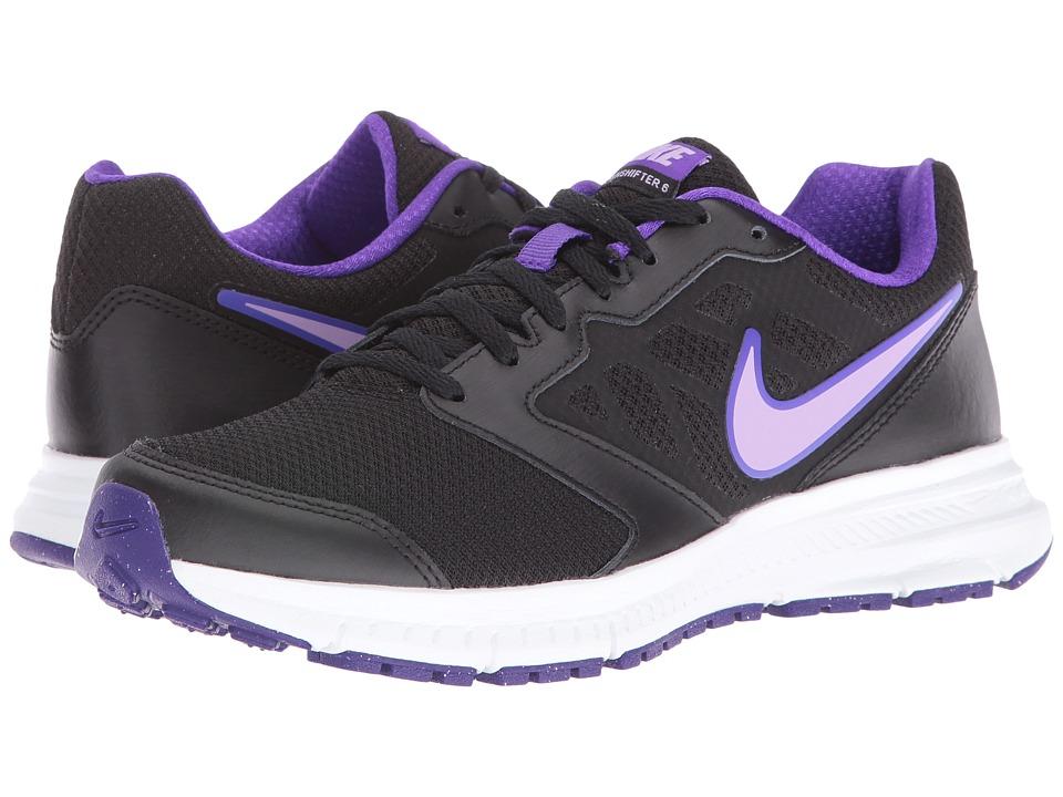 Nike Downshifter 6 (Black/White/Urban/Lilac) Women