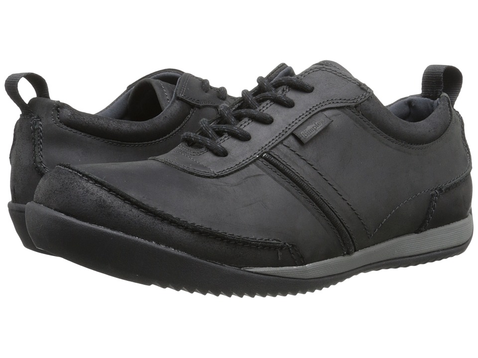 Simple Ascent (Black Leather) Men