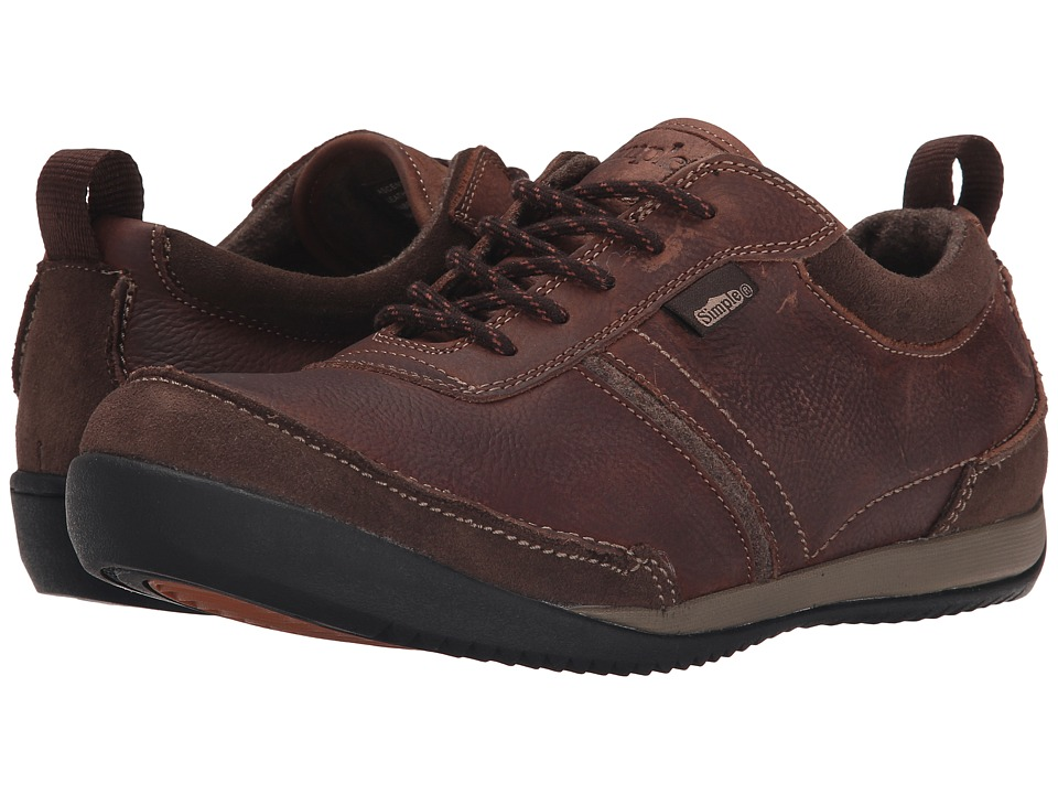 Simple Ascent (Brown Leather) Men