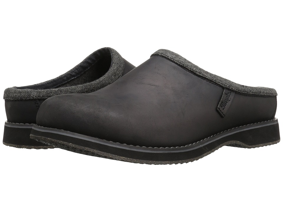 Simple Bravado (Black Leather) Men