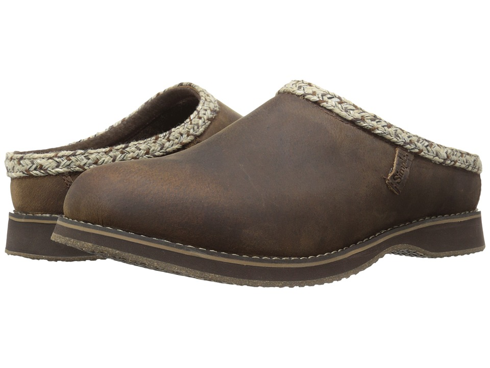 Simple Bravado (Dark Brown Leather) Men