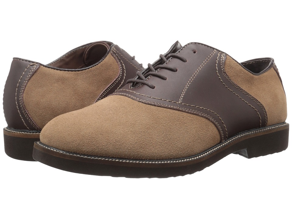 1950s Style Mens Shoes Simple - Impulse TaupeDark Brown Mens Shoes $75.99 AT vintagedancer.com