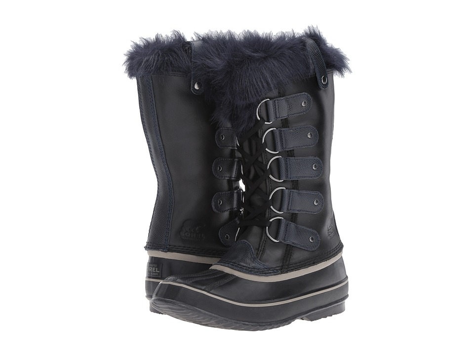 SOREL - Joan of Artic Obsidian (Black/Collegiate Navy) Womens Cold Weather Boots