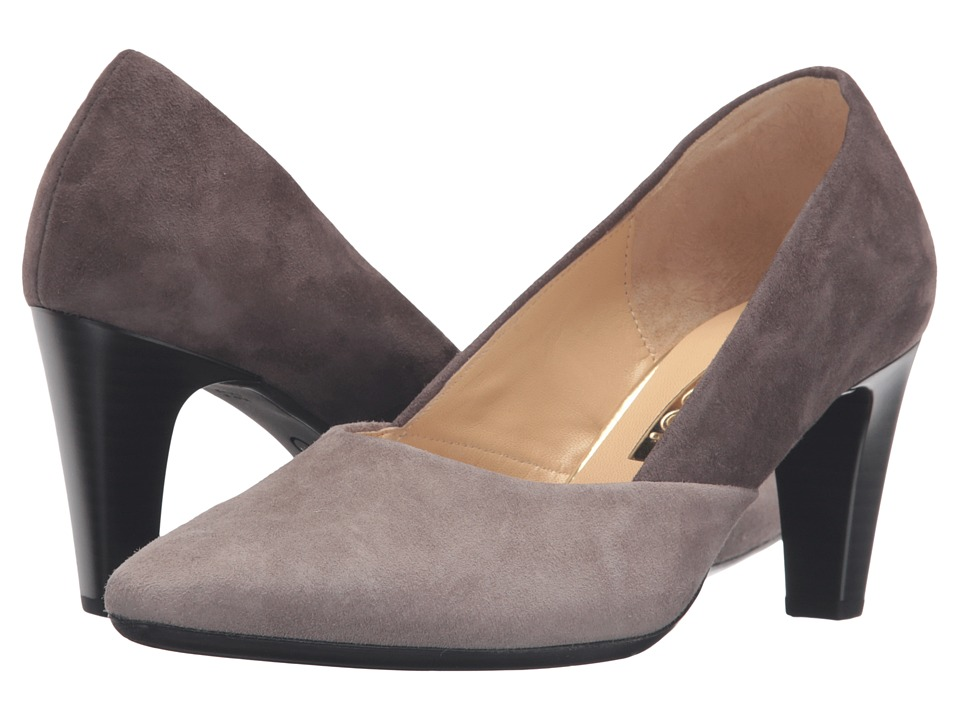 Gabor Gabor 55.150 (Medium Taupe/Tan Samtchevreau) High Heels