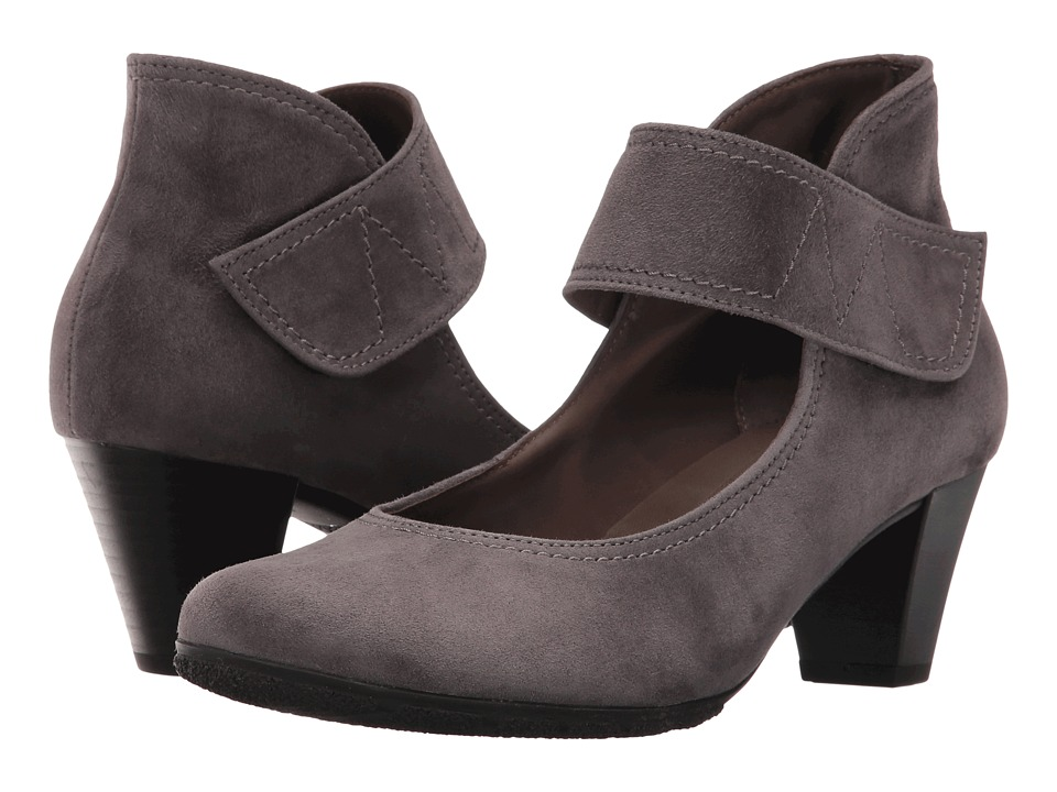 Gabor - Gabor 55.493 (Dark Grey Samtchevreau) High Heels