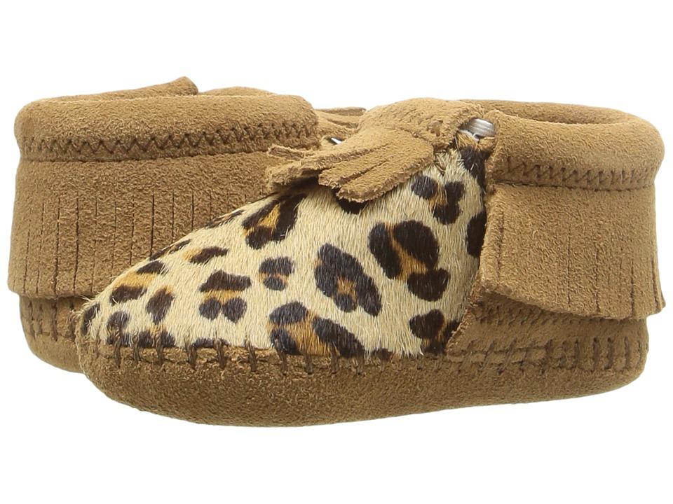 Minnetonka Kids - Riley (Infant/Toddler) (Brown) Girls Shoes