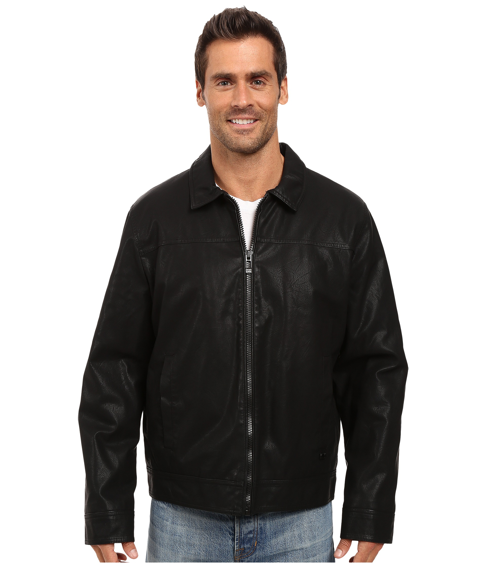 Leather Jacket | Shipped Free at Zappos