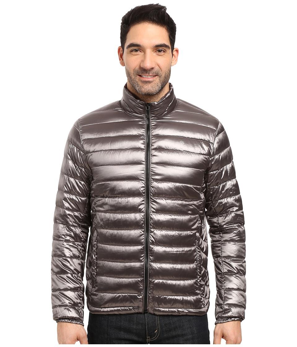 Calvin Klein Packable Down Jacket (Granite) Men