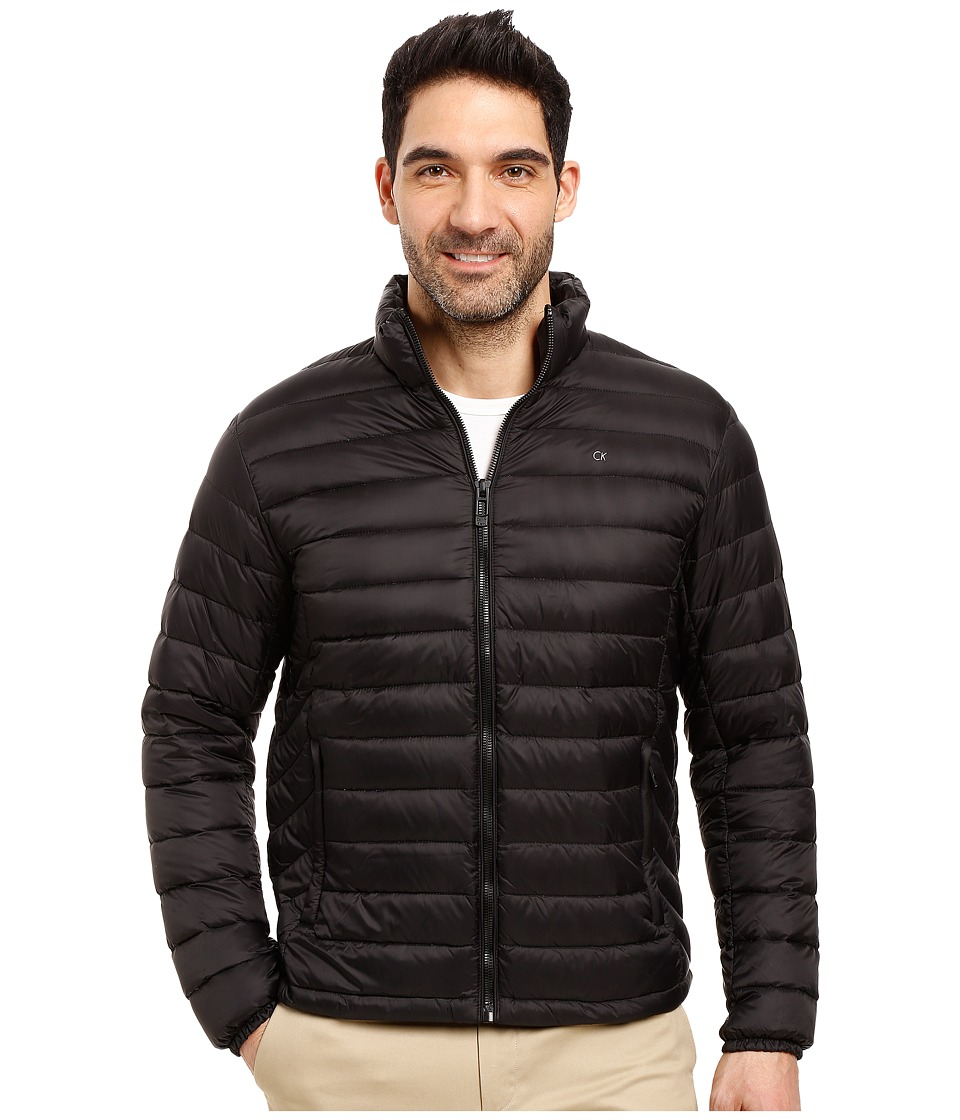 Calvin Klein Packable Down Jacket (Black) Men's Coat